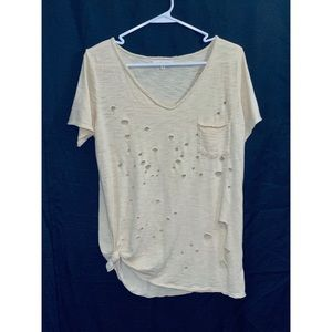 Buckle Gilded Intent Distressed Tee